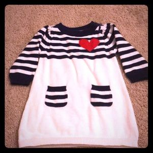 Old Navy sweater dress 3-6 months